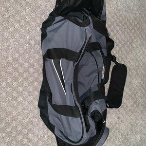 Grey Nike Duffel Bag